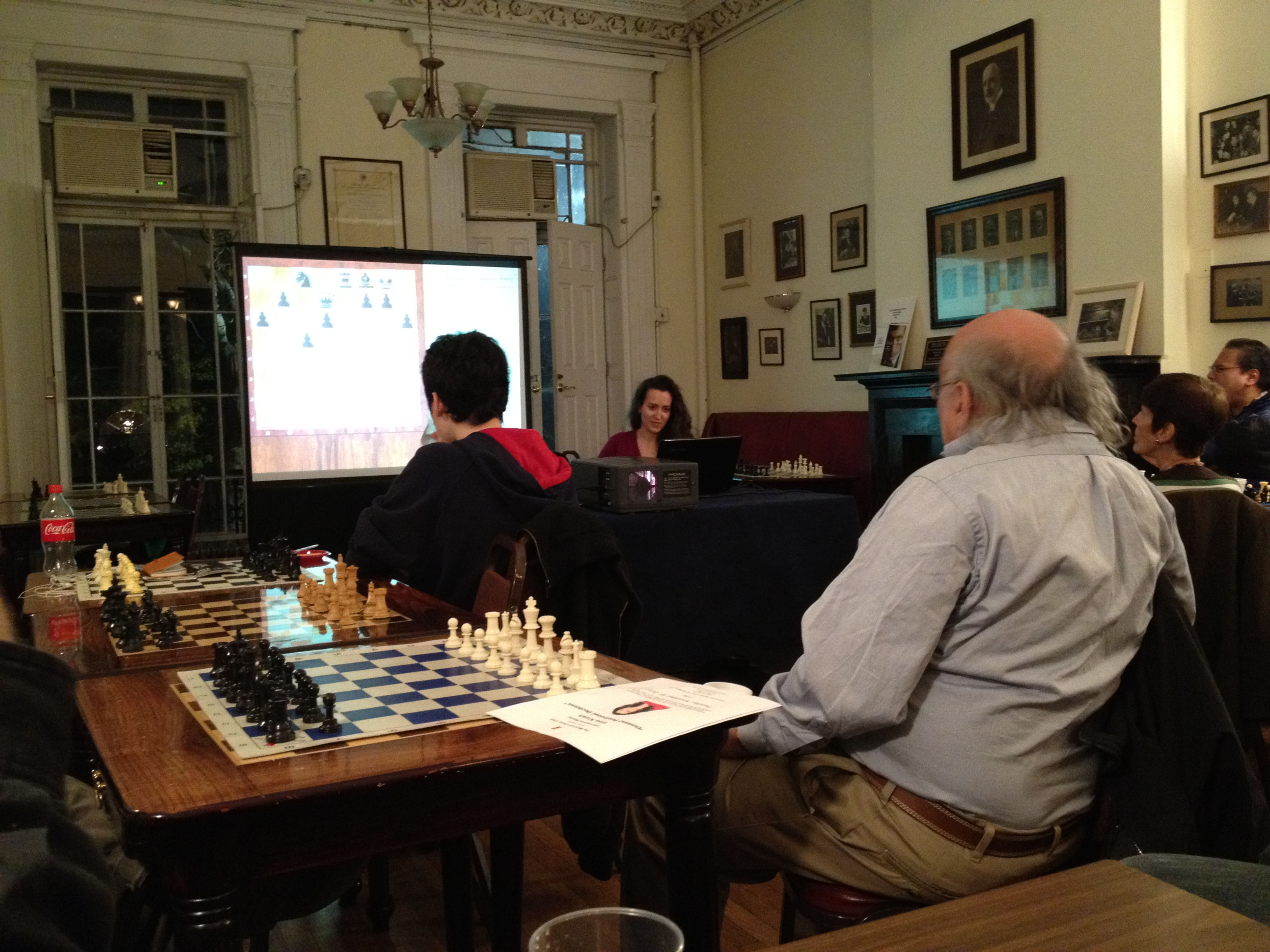 Irina Krush's Lecture at the Marshall Chess Club | Brooklyn64